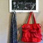 Trash-tastic Tuesday- Chalkboard With Hanging Pegs