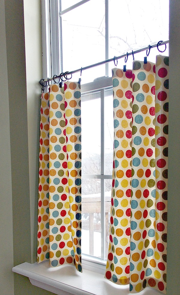 how to make diy cafe blinds