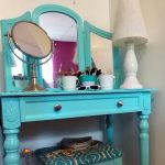 A Painted Vanity Table