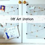 Trashtastic Tuesday- DIY Art Station