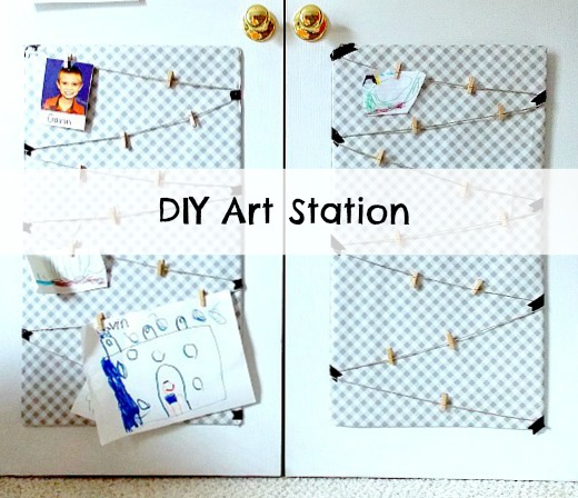 DIY Art Station