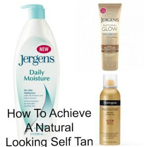 My Method For A Natural Looking Self Tan