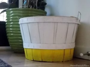 Trashtastic Tuesday- A Bushel Basket