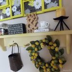 Transforming A Shelf With Paint/Distressing