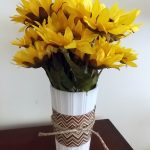 DIY Sunflower Arrangement for Fall