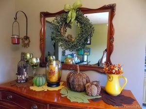 My Fall Buffet- And Some Good News To Share!