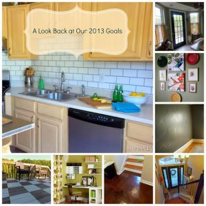 A Review of Our 2013 Goals at Sweet Parrish Place