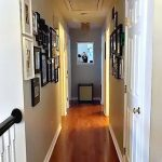Painted Hallway and Gallery Walls- Reveal