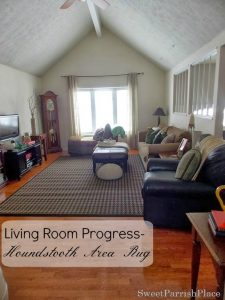 Living Room Update–A New Area Rug