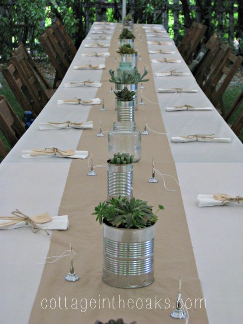 Inspired graduation party decor sweet parrish place