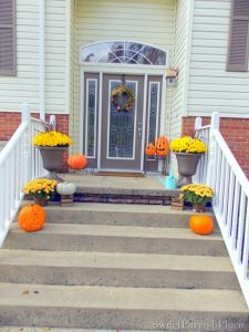 My Fall Front Stoop