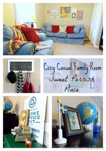 Home Tour Update- My Cozy Casual Family Room