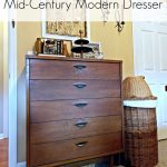 Mid-Century Modern Dresser for the Master Bedroom