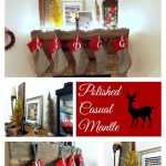 Polished Casual Christmas Mantle