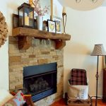 Winter Mantle {Living Room}
