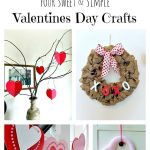 Four Sweet and Simple Valentines Day Crafts
