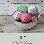 Trashtastic Tuesday- Craft Paper Easter Eggs
