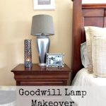 Trashtastic Tuesday- Goodwill Lamp Makeover