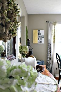 Small Dining Room Changes