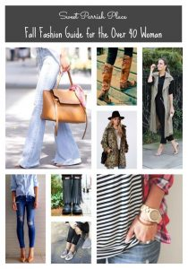 Fall Fashion Guide for the Over 40 Woman
