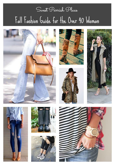 Fall Fashion guide for over 40 woman