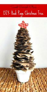 Trashtastic Tuesday- DIY Rustic Brown Paper Christmas Tree
