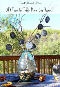 DIY – Thankful Tree for Thanksgiving