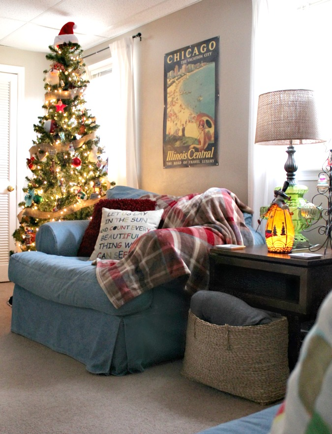 Christmas in my family room