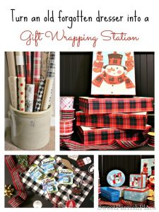 My Gift Wrapping Station