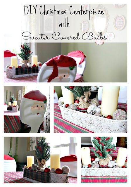 DIY budget Christmas decor