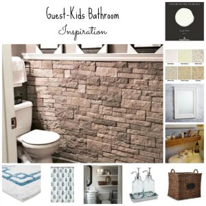 Guest Bathroom/Kid's Bathroom Inspiration