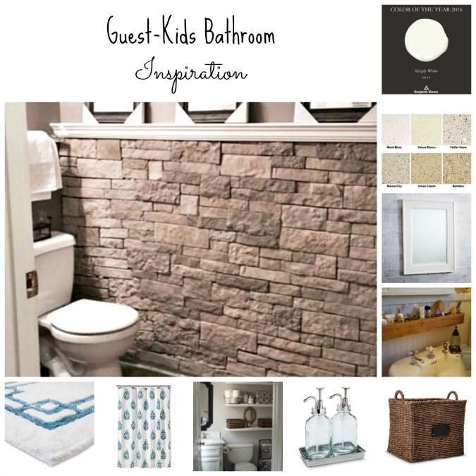 guestkids bathroom inspiration