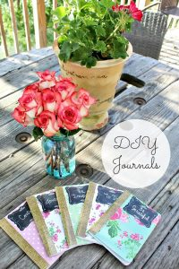 Charming Cottage Chic DIY Journals