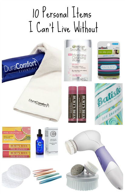 Ten personal care products I can't live without