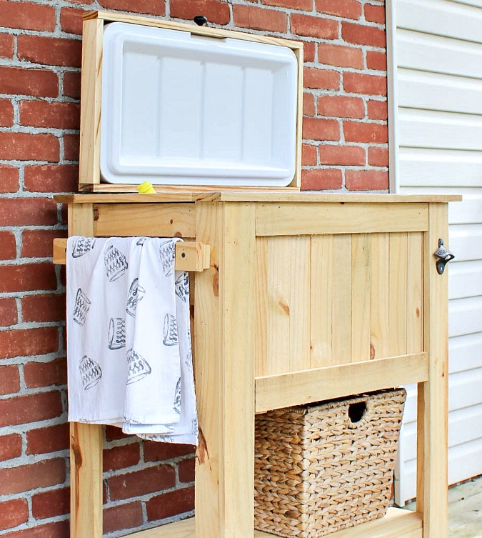 Patio/Deck Cooler Stand