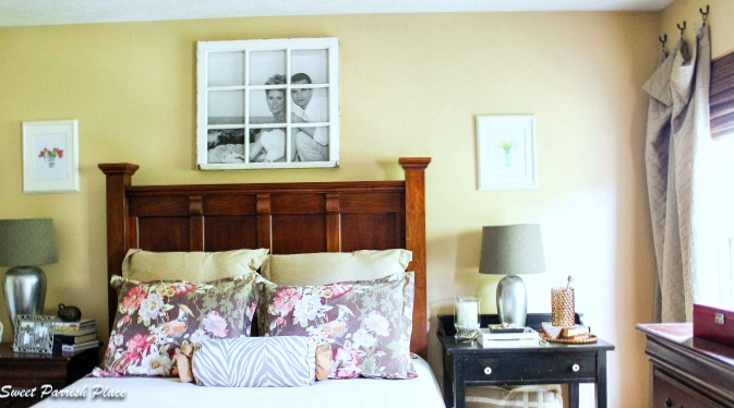 DIY- How to Turn an old salvaged window into a picture frame