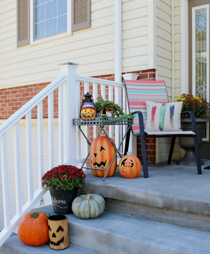 Fall Front Stoop