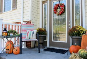 No Place Like Home – Halloween on the Front Stoop