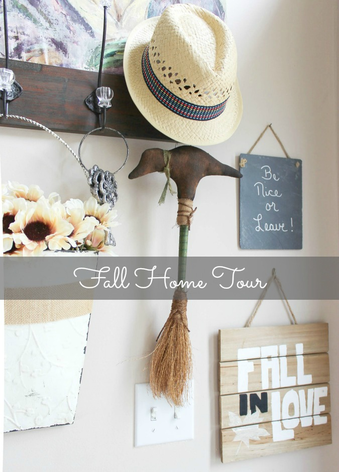 Eight different bloggers share their Fall home tour.