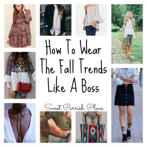 How to Wear the Fall Trends Like a Boss