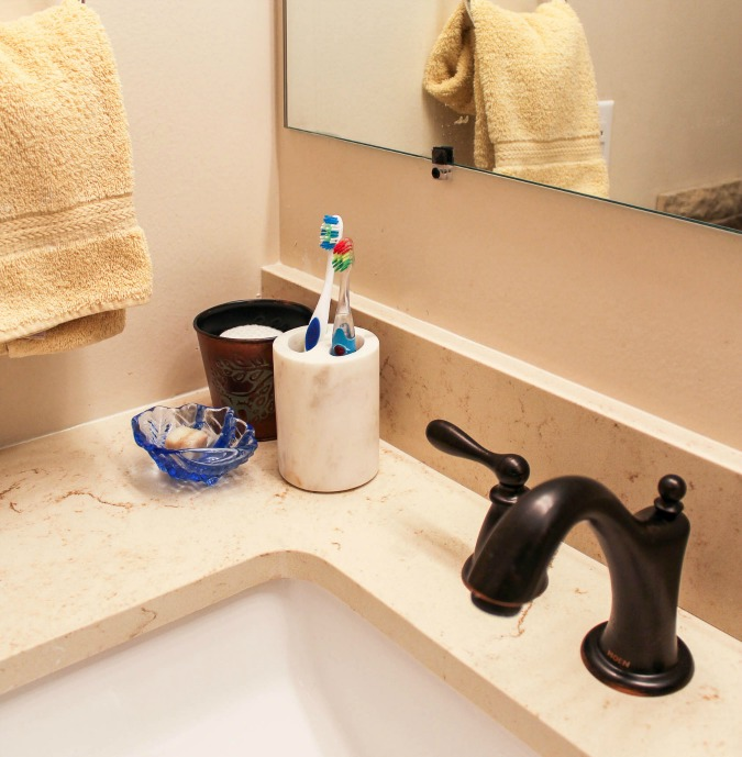 Guest Bathroom Ideas With Pleasant Atmosphere: Tips For Getting Your Home Guest Ready • Sweet Parrish Place