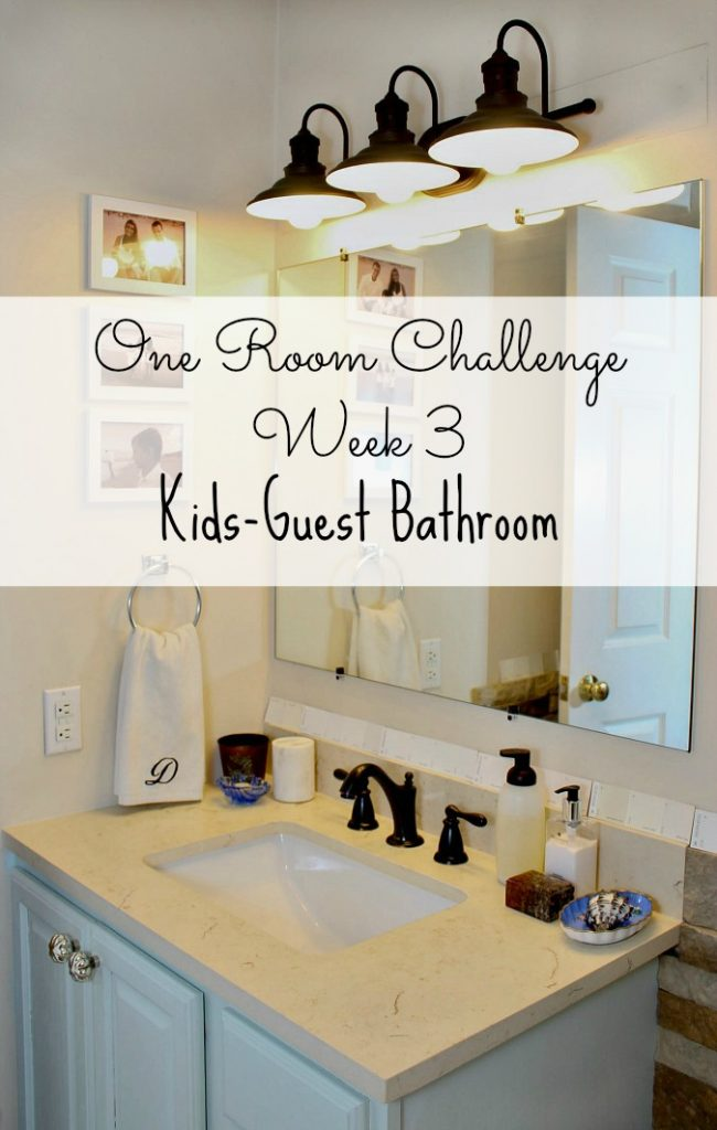 One Room Challenge Week 3- New Lighting