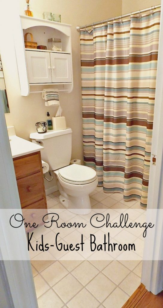 One Room Challenge Bathroom Makeover Progress
