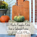 DIY Rustic Pumpkin Patch