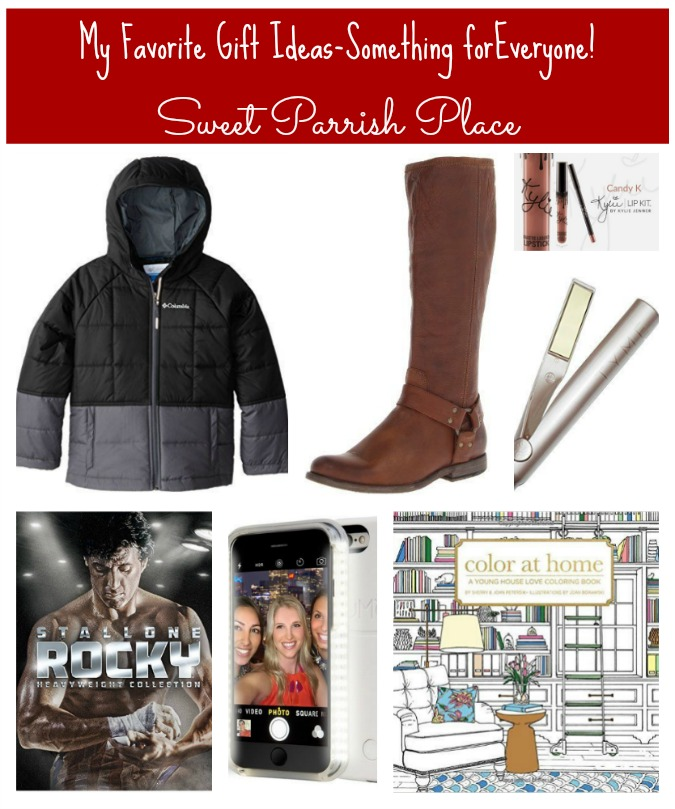 My favorite gift ideas - something for everyone