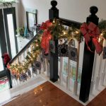 DIY Christmas Advent Calendar Garland