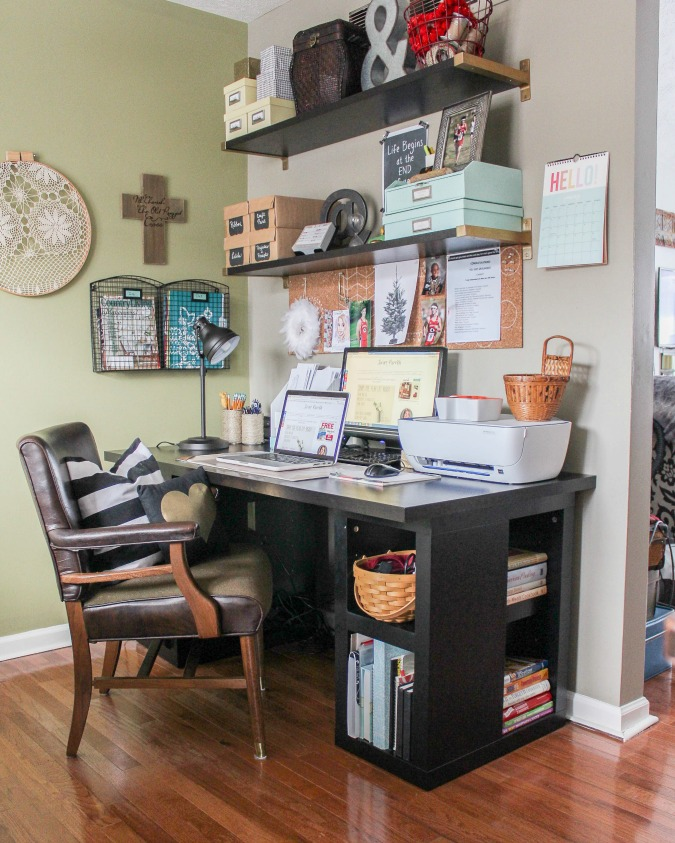 ideas and incentive to organize your home week 2 craft office space