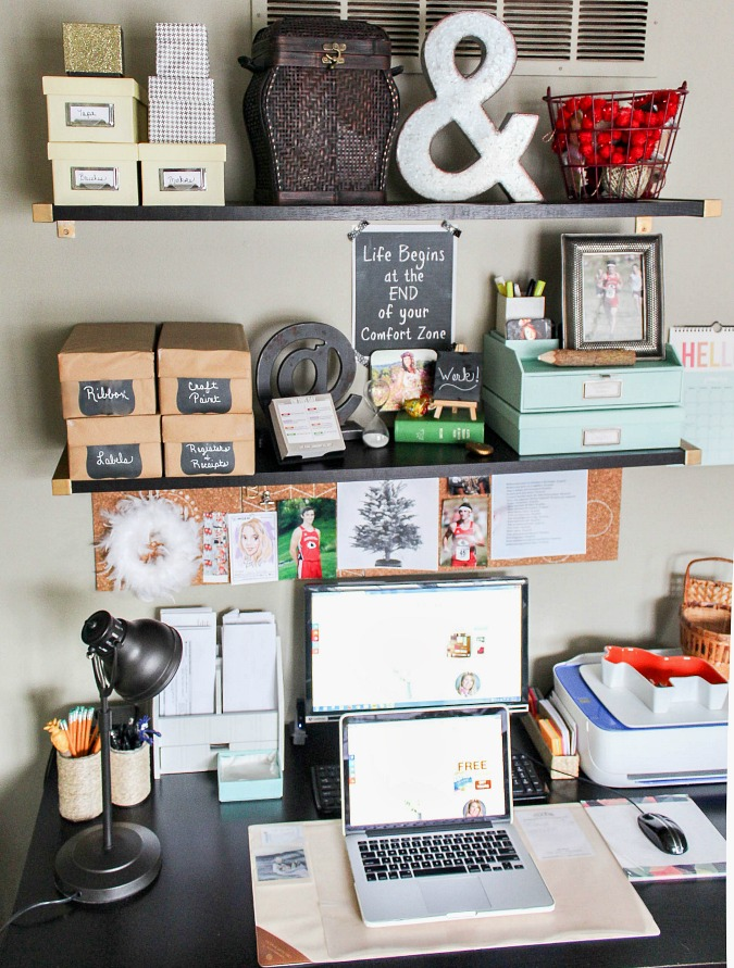 Ideas And Incentive To Organize Your Home  Craft/Office Space
