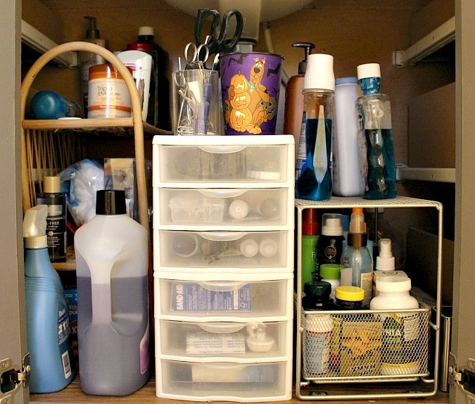 organize your home-bathroom
