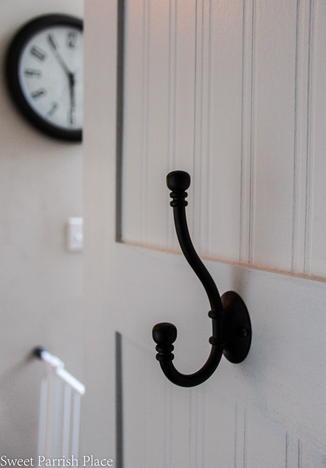 DIY Coat Hook Wall